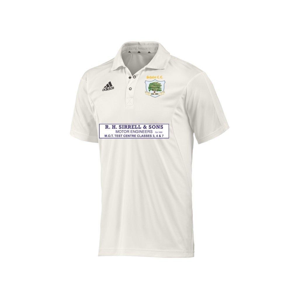 Scholes CC Adidas S-S Playing Shirt