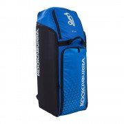 2020 Kookaburra d3 Duffle Cricket Bag - Navy/Cyan