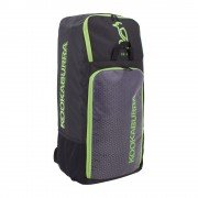 2020 Kookaburra d5 Duffle Cricket Bag - Black/Lime