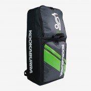 2021 Kookaburra d6 Duffle Cricket Bag - Black/Lime