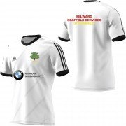 Condover CC Adidas White Junior Training Jersey