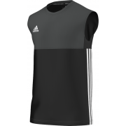 Marchwiel and Wrexham CC Adidas Black Training Vest