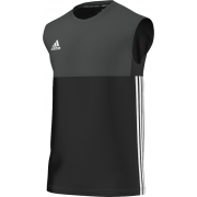 Luton Town & Indians CC Adidas Black Training Vest