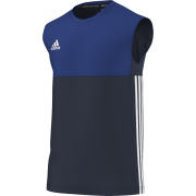 Chapel-En-Le-Frith CC Adidas Navy Training Vest
