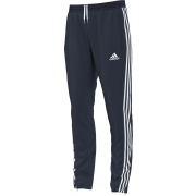Church Fenton CC Adidas Junior Navy Training Pants