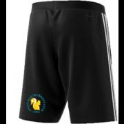 Aston Manor CC Adidas Black Training Shorts