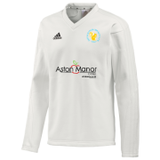 Aston Manor CC Adidas L/S Playing Sweater