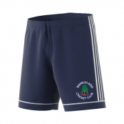 Barkisland CC Adidas Navy Junior Training Shorts