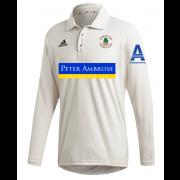 Barkisland CC Adidas Elite Long Sleeve Shirt
