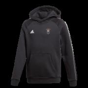 Barnoldswick CC Adidas Black Junior Fleece Hoody