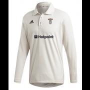 Barnoldswick CC Adidas Elite Long Sleeve Shirt