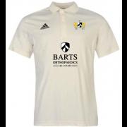Barts and The London CC Adidas Pro Junior Short Sleeve Polo