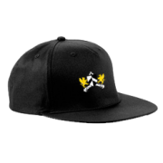 Barts and The London CC Black Snapback Hat