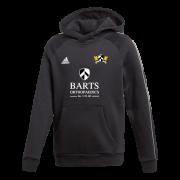 Barts and The London CC Adidas Black Junior Fleece Hoody