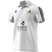 Barts and the London CC Adidas White Polo