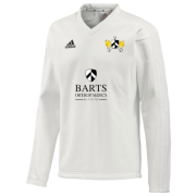 Barts and the London CC Adidas L/S Playing Sweater