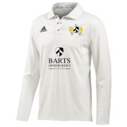 Barts and the London CC Adidas L/S Playing Shirt