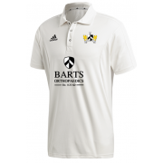 Barts and The London CC Adidas Elite Junior Short Sleeve Shirt