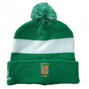 Carlton CC Green AR Bobble Beanie