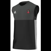 Churchtown CC Adidas Black Training Vest