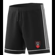 Churchtown CC Adidas Black Training Shorts