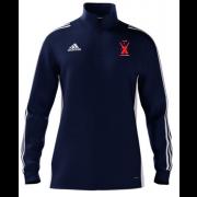 Cound CC Adidas Navy Zip Junior Training Top
