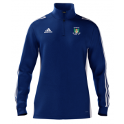 Didsbury CC Adidas Blue Zip Training Top