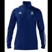 Didsbury CC Adidas Blue Zip Junior Training Top
