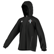 Eaton CC Adidas Black Rain Jacket
