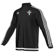 Eaton CC Adidas Black Junior Training Top