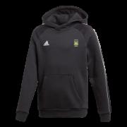 Gilberdyke CC Adidas Black Junior Fleece Hoody