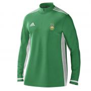 Gilberdyke CC Adidas Green Zip Training Top