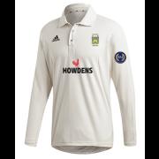 Gilberdyke CC Adidas Elite Long Sleeve Shirt