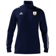 Goldsborough CC Adidas Navy Zip Training Top