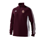 Kirkburton CC Adidas Maroon Training Top
