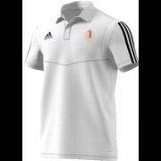Kirkburton CC Adidas White Polo