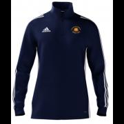 Knockin and Kinnerley CC Adidas Navy Zip Junior Training Top