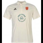 Knowle Village CC Adidas Pro Junior Short Sleeve Polo