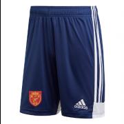 Knowle Village CC Adidas Navy Junior Training Shorts