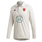 Knowle Village CC Adidas Elite Long Sleeve Shirt