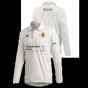 Lightcliffe CC Adidas Elite Long Sleeve Shirt