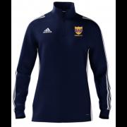 Maghull CC Adidas Navy Zip Training Top
