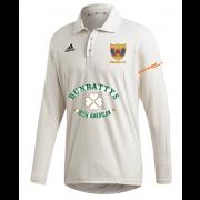 Maghull CC Adidas Elite Long Sleeve Shirt