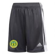 Meanwood CC Adidas Black Training Shorts