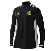 Meanwood CC Adidas Black Zip Training Top