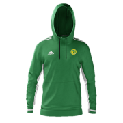 Meanwood CC Adidas Green Zip Training Top