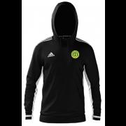 Meanwood CC Adidas Black Junior Hoody