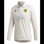 Meanwood CC Adidas Elite Long Sleeve Shirt