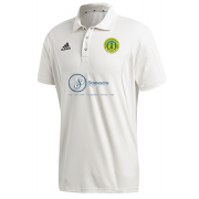 Meanwood CC Adidas Elite Junior Short Sleeve Shirt