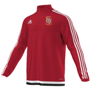 Methley CC Adidas Red Junior Training Top